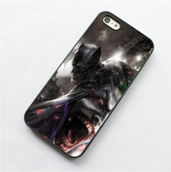Harga For Apple iPhone 5c phone case TPU cover Batman and Joker - intl