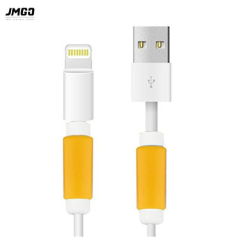 Harga JmGO 5 Pieces Charging Cable Protector Saver Lightning Saver Protective For iPhone 5 ,5s ,6 ,6S, 6 Plus - intl