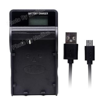 Harga BLN-1 LCD Ultra Slim USB Charger for Olympus E-M5, E-P5, OM-D E-M1, OM-D E-M5, Pen E-P5 Camera - intl