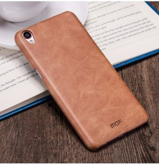 Mofi Cover Case Luxury PU Leather Back Cover Phone Case For OPPO F1 Plus / R9 - intl