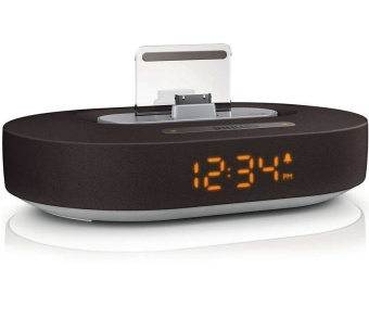Philips DS1200/98 Docking Speaker for iPhone iPod iPad / With clock display (Export Set)