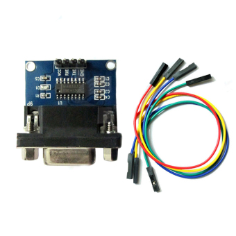 Harga Fang Fang RS232 To TTL Converter Module COM Serial Board MAX232CPE Transfer Chip
