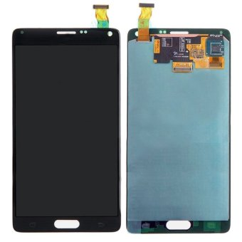 for samsung galaxy note 4 n910v n910a n910f n910t lcd screen touch screen touch lens digitizer replacement parts grey(Export)