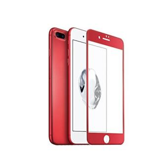 Harga Iphone 7 5.5 Soft Full Curved Tempered Glass Red