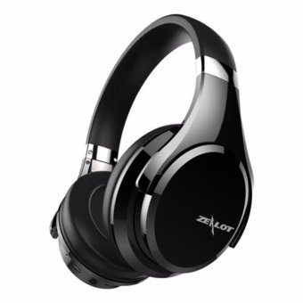 Harga ZEALOT B21 Deep Bass Portable Touch Control Wireless Bluetooth Over-ear Headphones with Built-in Mic for iPhone 7 / 7 Plus - intl