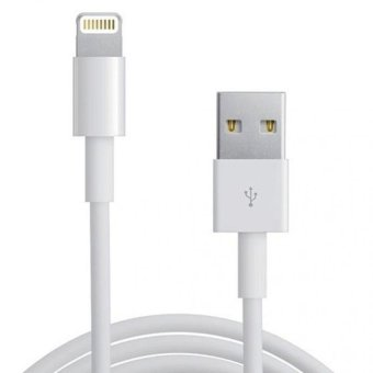 Apple Lightning USB Fast Charge Cable Data Sync Cable (White) - intl