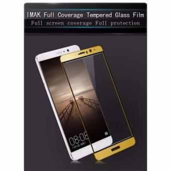 Harga Imak Full Coverage Tempered glass screen protector for Huawei Mate 9 (Gold)
