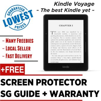 Harga Kindle Voyage 2016 Amazon + Screen Protector + SG Guide