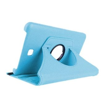 Harga Leather Cover for Samsung Galaxy Tab3 Tablet T210 (Sky Blue)