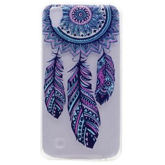 Harga LG X Power Case, Ultra Thin Soft TPU Gel Silicone Back Case Cover for LG X Power (Design-1) - intl