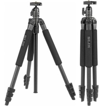 Slik Sprint Pro II 18.5cm 3Way Tripod in Gun Metal with Quick Release Ball Head & Case