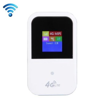 Harga 3G/4G WiFi Wireless Mobile WiFi Router(White) - intl