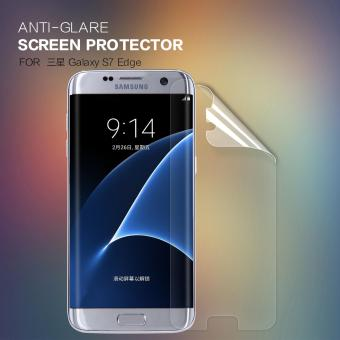 2PCS Screen Protector For Samsung Galaxy S7 edge NILLKIN Anti-Glare Matte protective soft film (5.5 inch) (Clear) - intl