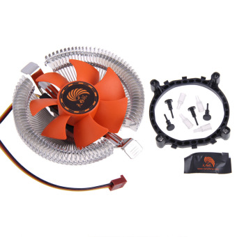 Harga PC CPU Cooler Cooling Fan Heatsink for Intel LGA775 1155 AMD AM2 AM3 754