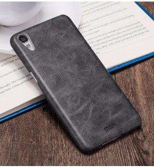 Mofi Cover Case Luxury PU Leather Back Cover Phone Case For OPPO R9 Plus - intl