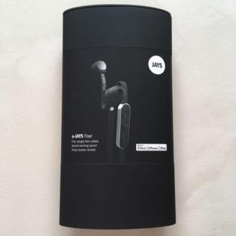 Jays A-JAYS Four In-Ear Headset (Black)
