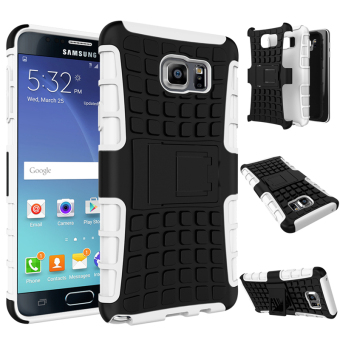 Harga Ueokeird Heavy Duty Shockproof Dual Layer Hybrid Armor Protective Cover with Kickstand Case for Samsung Galaxy Note 5 - intl