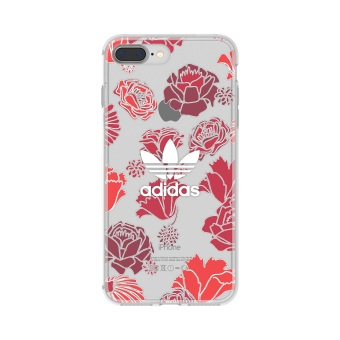 Harga adidas Originals Clear Case iPhone 7 Plus - Bohemian Red (Back Cover)