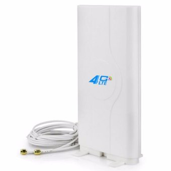 Harga Bluesky LF-ANT4G01 Indoor high gain 4G LTE MIMO Antenna with 2m cable double Connector TS9/CRC9/SMA-male - intl