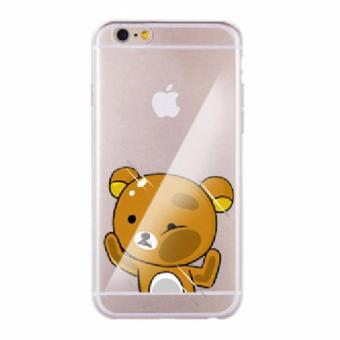 Harga (Rikkulama) Character Cheek Clear Case Casing Cover for Xiaomi Redmi Note 3G / 4G
