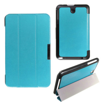 Harga HKS Ultra Slim Leather Case Magnetic Case For 7?? Asus Memo Pad 7 (Sky Blue) - intl