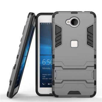 "Armor Protection 2in1 [Soft TPU and Hard PC] Stand Function Phone case for Microsoft Lumia 650 (5.0"") - intl"