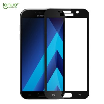 Harga Lenuo glass screen protector for Samsung Galaxy A7 2017 full screen glass Protective film for Samsung Galaxy A7 (2017) / A720F - intl