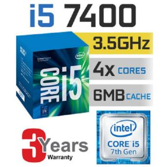 Harga New 7th Gen Intel® Core™ i5-7400 Processor 3 to 3.6 GHz 4 core 4 threads
