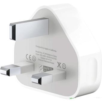 Harga UK Plug USB Wall Power Charger Adapter for iPhone 3G/4G/4S (White) - intl