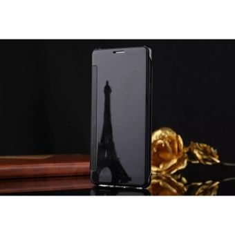Smart Sleep Mirror Flip Case Cover For Oppo R9s(black) - intl