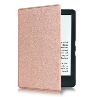 Harga JinGle Thin PU Leather Case Cover for Amazon Kindle 8th 2016 (Rose Gold)
