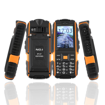 "NO.1 A9 2.4"" Waterproof Mobile Phone"
