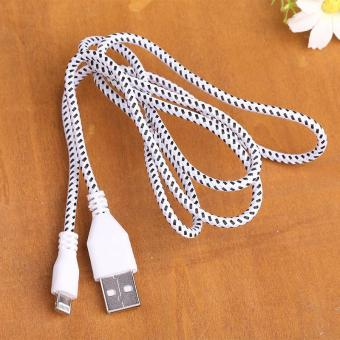 Harga New 1M 2M 3M Braided Data Charging Cable For iPhone 5/5s/6 plus High Quality - intl