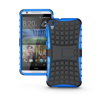 Harga Ueokeird Heavy Duty Shockproof Dual Layer Hybrid Armor Protective Cover with Kickstand Case for HTC Desire 820 - intl