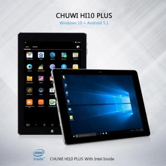 "Harga CHUWI Hi10 Plus 10.8"" Tablet PC 64GB EU Plug - intl"