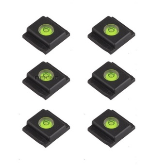 Harga Selens Hot Shoe Spirit Level Hotshoe Bubble Protect Cover Cap 6pcs for Canon DSLR (Intl) - Intl