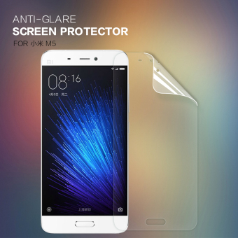 2 pcs Original NILLKIN Screen Protector Lot Matte HD Anti-fingerprint Protective Film For xiaomi mi5 (Clear) - intl