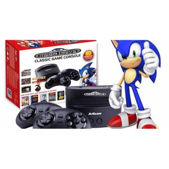 Harga Sega Mega Drive Classic Game Console With 80 Games