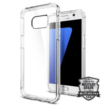 Harga Spigen S7 Crystal Shell Case Casing Cover - Crystal Clear