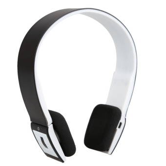 Harga Black Wireless 2 Channel Bluetooth Handsfree Stereo Headphone Headset BH23