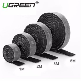 Harga UGREEN Loop Wraps Reusable Fastening Cable Ties Straps Strips for Cords Wire Management - 2M - intl