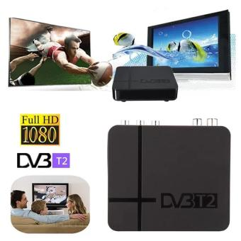 Harga DVB T2 Tuner MPEG4 DVB-T2 HD Compatible With H.264 TV Receiver W/ RCA / HDMI PAL/NTSC Auto Conversion - intl