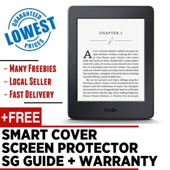 Harga Kindle Paperwhite 2016 Amazon + Cover + Screen Protector + SG Guide