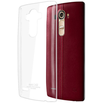 Harga Imak Crystal Clear Transparent Hard Case Thicker Version for LG G4 (Clear)