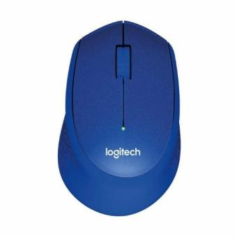 Harga Logitech M331 Silent Plus Blue Wireless Mouse