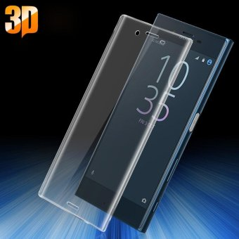 Harga IMAK 3D Curved Full Cover Tempered Glass Screen Protector for Sony Xperia X Compact - intl