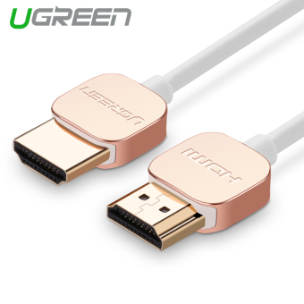 Harga UGREEN 1.5m Luxury Male to Male HDMI Cable Zinc Alloy Case Support 4K*2K 3D