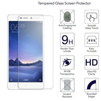 Harga Ueokeird 9H HD Clear Tempered Glass Screen Protector Film For Xiaomi Redmi 3 / 3S - intl