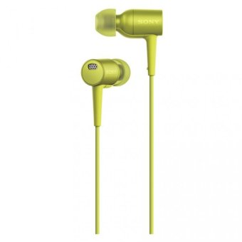 Harga Sony Singapore MDR-EX750NA In-Ear Headphone (Lime Yellow)