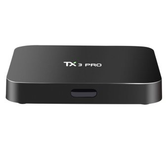 Harga TX3 Pro 4K Smart TV Box 1G+8G Android 6.0 Quad Core Amlogic S905X Fully Loaded - intl